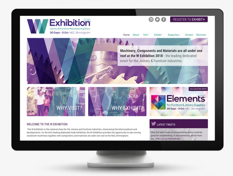 Brand for exhibition for furniture suppliers