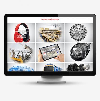 AcSoft Sound and Vibration: Bespoke website and marketing materials