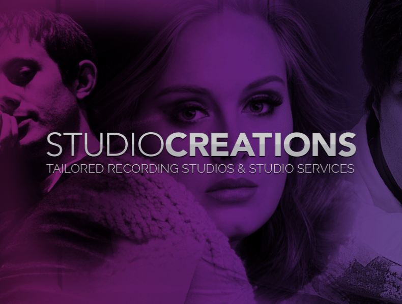 Brand and bespoke website for Studio Creations