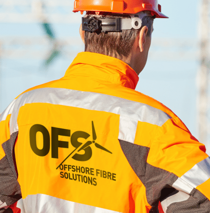 Brand and bespoke web build for Offshore Fibre Solutions