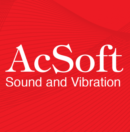 AcSoft Sound and Vibration: Bespoke website and marketing materials