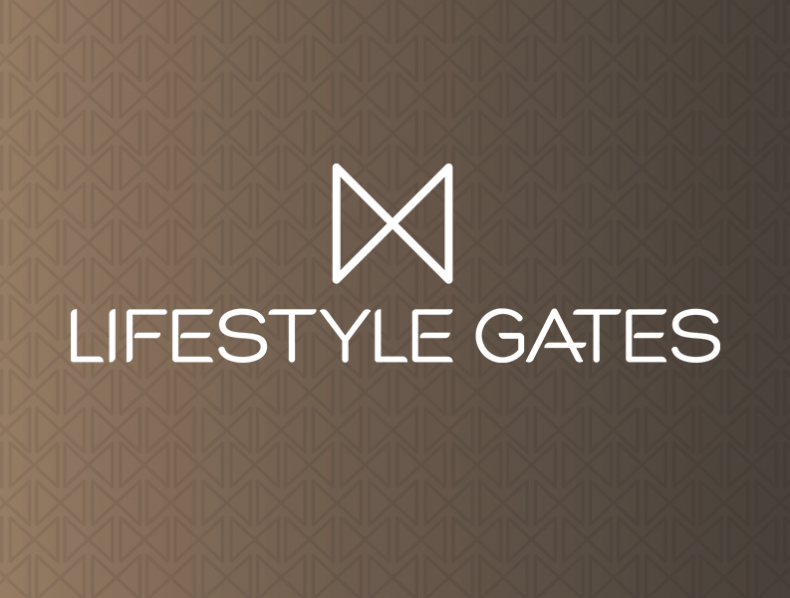 Brand and bespoke website for Lifestyle Gates