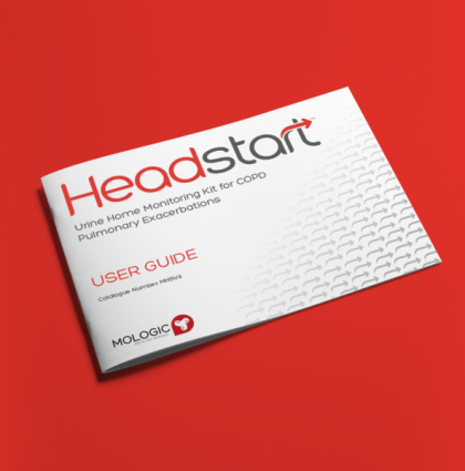 Mologic: Headstart branding, packaging and materials