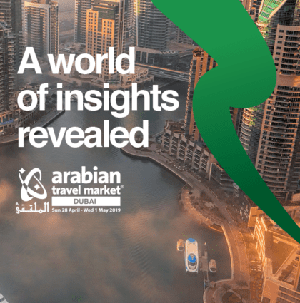 Arabian Travel Market 2019. Our 14th year working on this prestigious event