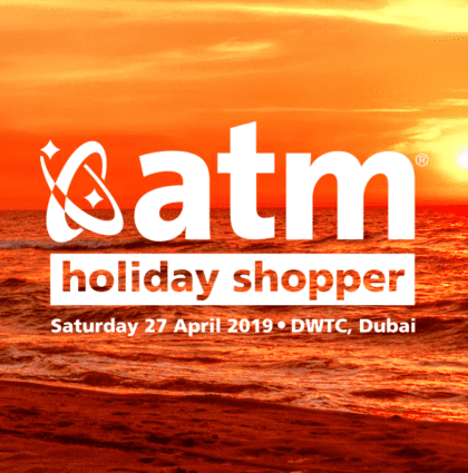 New brand creation for Arabian Travel Market 2019 – Holiday Shopper Exhibition